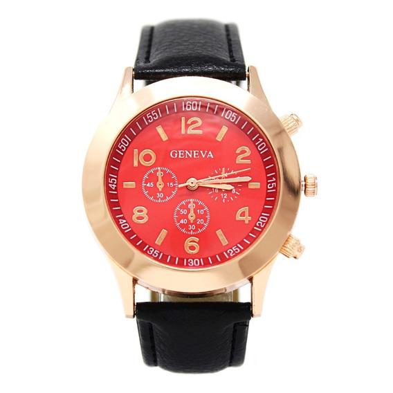 Reloj Dama Mujer Blusic Rojo