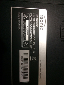 Mini Laptop Isonic A-1005 Para Repuesto