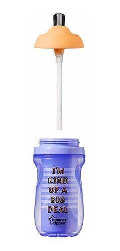 Tommee Tippee Deco Vaso Aislante Sellable Flippee Straw Cup,