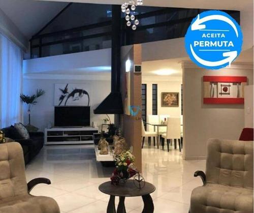 Imagem 1 de 30 de Casa Com 4 Dormitórios À Venda, 400 M² Por R$ 1.950.000,00 - Alphaville - Santana De Parnaíba/sp - Ca1388