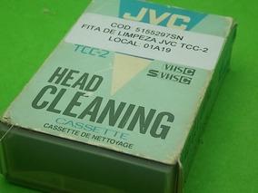 Fita De Limpeza Jvc Tcc-2 - Raridade