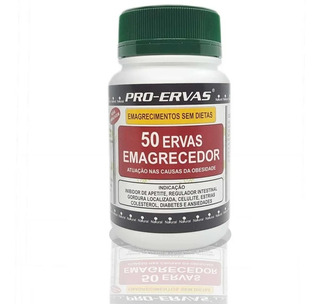 Remedio Para Emagrecer, Emagrecedor Potente 50 Ervas