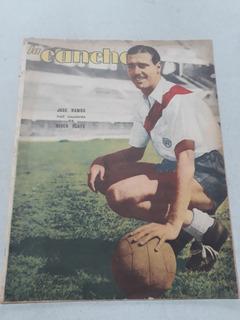 Revista La Cancha N° 926 Año 1946 Jose Ramos, River Plate