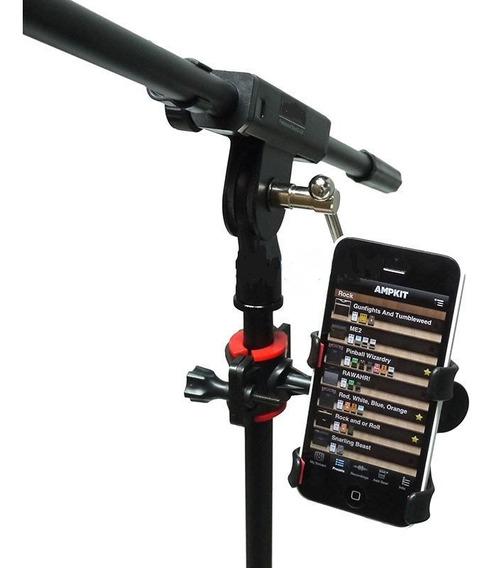 Suporte Celular Reforçado Para Pedestal Microfone Toca Canta