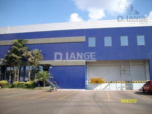 Galpão Para Alugar, 1168 M² Por R$ 27.804/mês - Techno Park - Campinas/sp - Ga0402