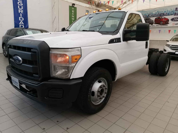Ford F 350 2014 2p Chasis Xl V8/6.2 Aut