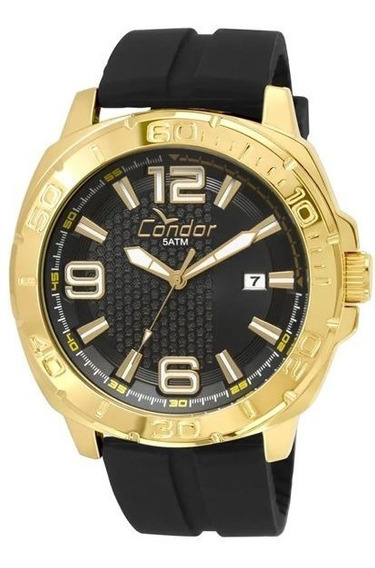 Relógio Masculino Condor Silicone Co2415be/8p Barato Promo