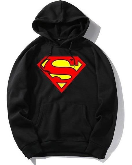 Moletom Casaco Blusa Superman Super Herói Dc Comics - Oferta