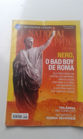 Revista National Geografic 174 Set 2014 Nero Tailândia Rússi
