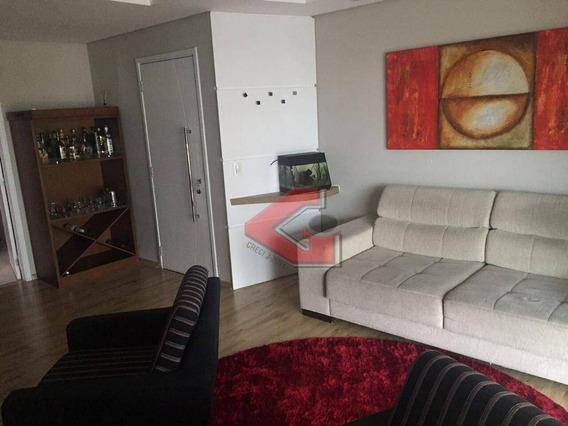 Apartamento Com 3 Dormitórios À Venda, 130 M² Por R$ 850.000 - Vila Marlene - São Bernardo Do Campo/sp - Ap2944
