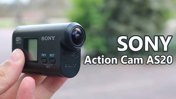 Sony Actioncam Hdr-as-20