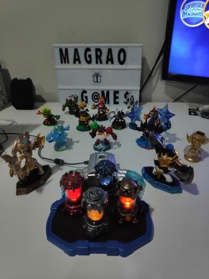 Skylanders Imaginators Wii U. Coleção Completa! A Vista 500