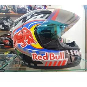 Capacete Red Bull Robocop Valentino Rossi