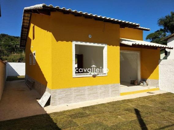 Casa Com 2 Dormitórios À Venda, 64 M² Rio Do Ouro - São Gonçalo/rj - Ca3694