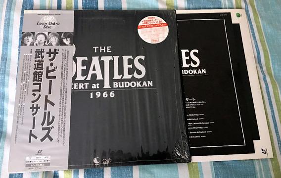 The Beatles Live At Budokan 1966 Laserdisc Japonés Ltd. Ed