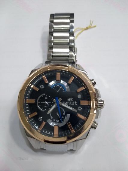 Relógio Masculino Smart 62828 Resistente A Água