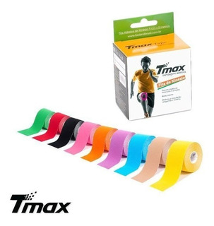 Fita Kinesio Tmax Original Bandagem Elastica 5 Mts Cada