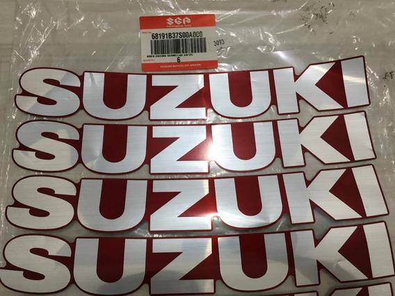 68191b37s00 Adesivo Suzuki Vermelha An 125