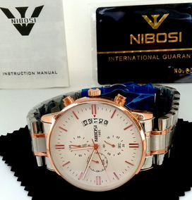Relógio Nibose Blindado Masculino Funcional Promoção