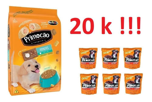 Imagen 1 de 1 de Primocao Cachorro 20k + 6 Sachets  + Envio Gratis