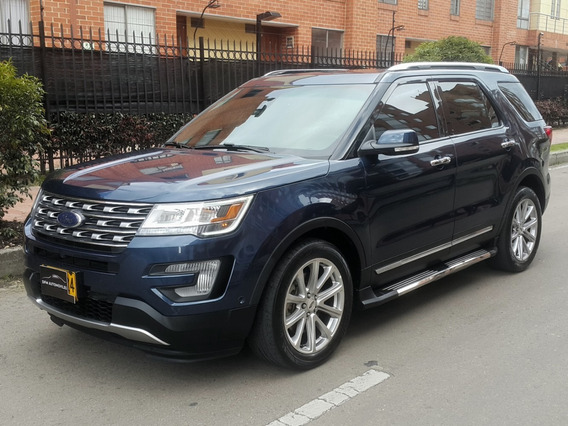 Ford Explorer Limited Tp 3500cc 4x4 7psj Ct Tc Fe