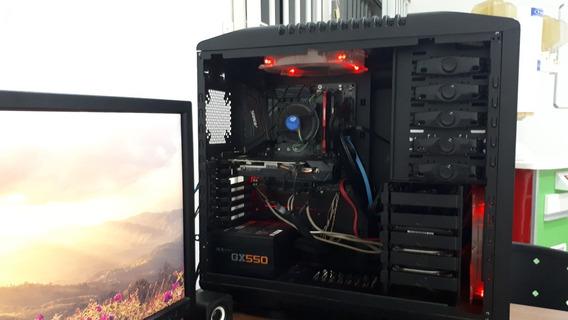 Computador Gamer I7 8700 16gb Hyper-x Ssd 240gb Gtx 1060 6g