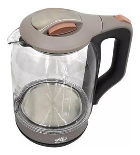 Tetera Electrica De Vidrio 2 Litros Para Calentar Agua /e
