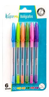 Bolígrafos Dinamik Ink X 6