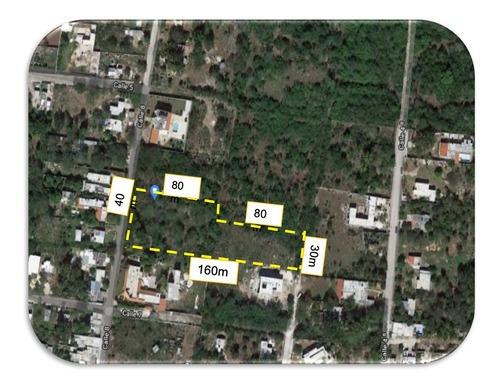 Terreno En Sitpach De 5600 M2 Mérida Yucatán