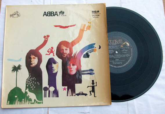 Abba - El Album / Vinilo Arg. 1º Ed. 1978 _ Pop Disco / Env.