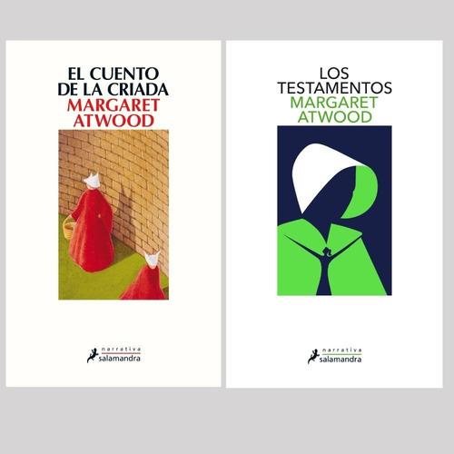 Pack Margaret Atwood - El Cuento De La Criada + Testamentos