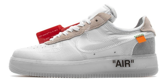 Tenis Nike Air Force 1 X Off-white