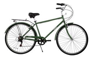 Bicicleta De Paseo Philco Toscana Rodado 28 Verde 700c