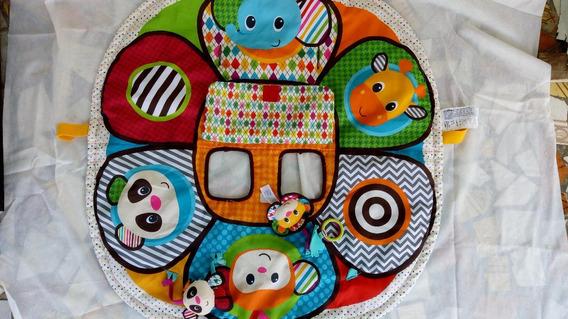Tapete Educativo Infantil Com Atividades Infantino