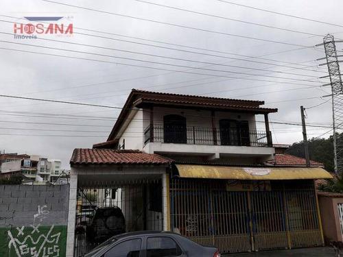 Sobrado Residencial À Venda, Serpa, Caieiras. - So0537