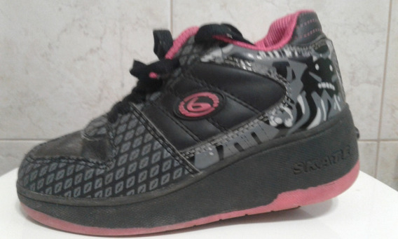 Zapatillas Con Ruedas Skate N31