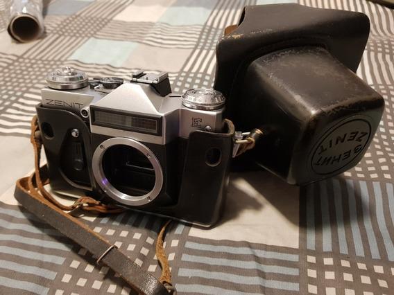 Camera Zenit E M42 - Funcionando Zenith Analogica 35mm