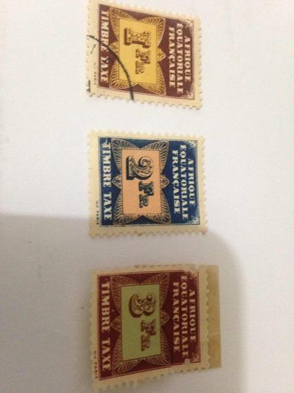 Selos Raros Da África Equatorial