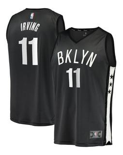 Camisa Brooklyn Nets - Nba - Durant 7 - Irving 11