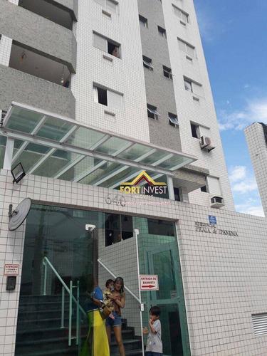 Apartamento Com 2 Dormitórios À Venda, 60 M² Por R$ 260.000,00 - Vila Guilhermina - Praia Grande/sp - Ap2005