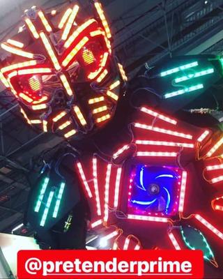 Megatron Robô De Led Para Festas