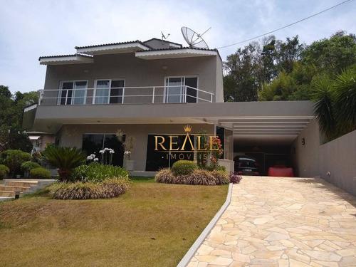 Casa À Venda, 330 M² Por R$ 1.550.000,00 - Condomínio Chácaras Do Lago - Vinhedo/sp - Ca0732