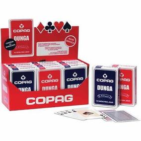 Caixa De Baralho Copag Dunga C/12 Jogos Original