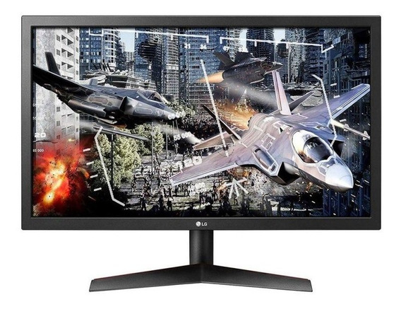 Monitor Gamer LG 24 Full Hd 24gl600f-bawz Ips 1ms Mbr 144hz