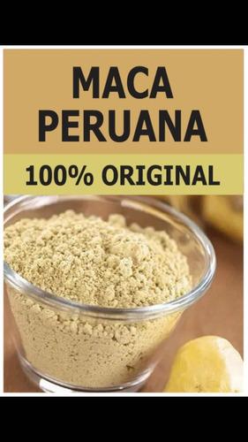 Maca Peruana En Polvo 100% Puro 500 Gr $400...!!!!