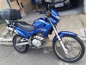 Honda Nx400 Azul Aceita Troca Moto Menor Cc.