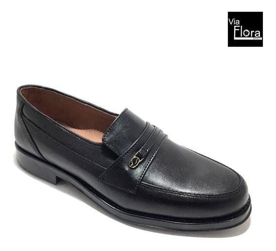 Zapatos De Hombre Mocasin Cuero Legitimo Envio Gratis (23/22