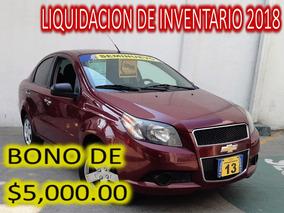 Chevrolet Aveo 1.6 Lt Mt Rojo 2013