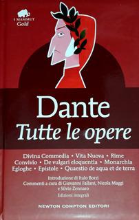 Dante. Tutte Le Opere. - En Italiano