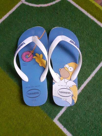 Sandalias Havaianas Bart Simpson OriginalTalle 38
